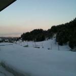 シンと静まり返った雪景色。