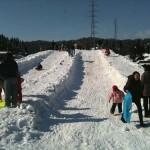 ソリの他にも色々な雪遊びが待ってます!
