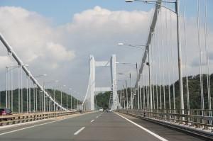 瀬戸大橋を渡る!