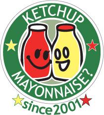 ケチャマヨのNEWロゴマークはガラスボトル