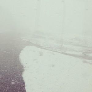 雪の多摩川