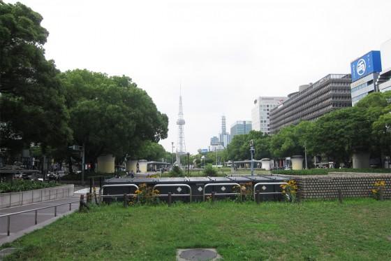20_名古屋テレビ塔と公園