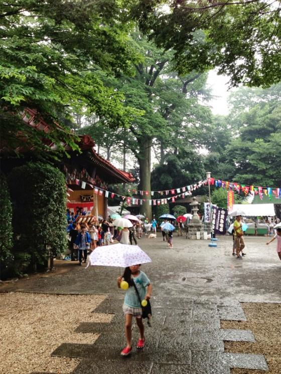 21_突然の雨!