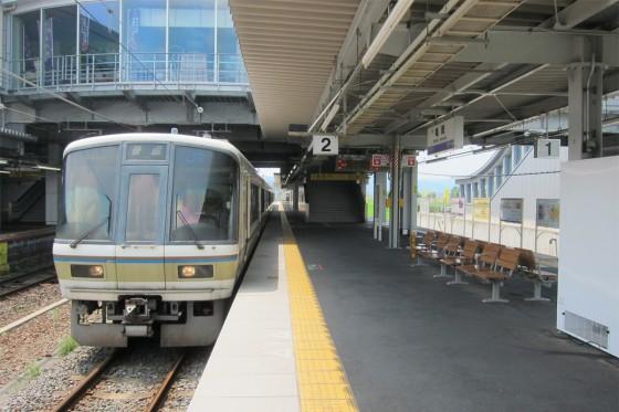 52_亀岡駅に到着!