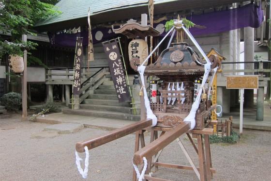 15_神明神社、八坂神社の二社をお祀りする神戸神社。