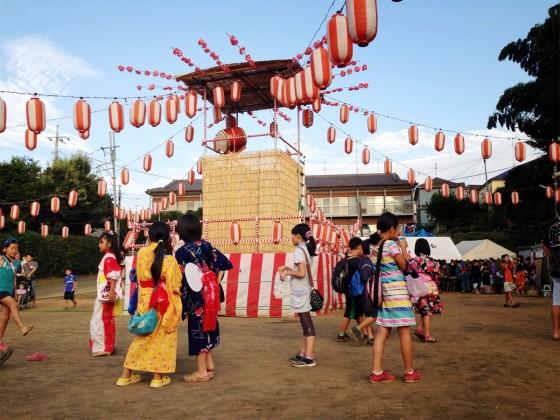 16_近所の村のお祭りを見て