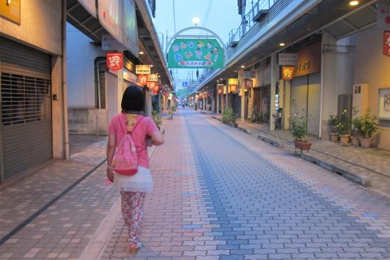 44_ローズナード霞・商店街