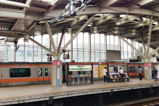 01_JR武蔵小金井駅に到着
