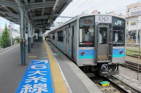 06_松本に戻って大糸線に乗ります