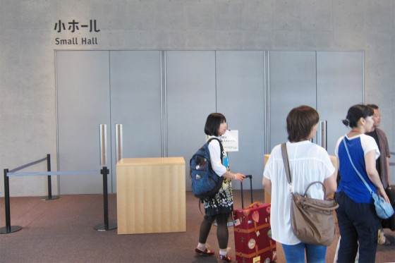 03_小ホールが開くのを待って・・・ダッシュ!