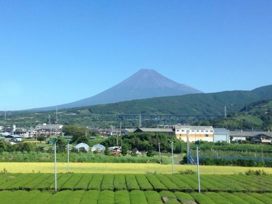 01_雪のない富士山