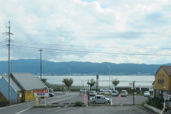 09_諏訪湖も通り過ぎ