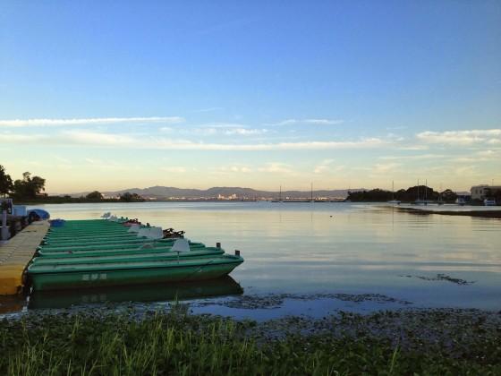 23_琵琶湖の夕暮れ