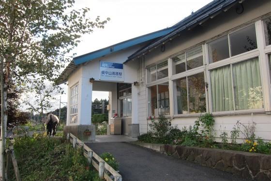36_奥中山高原駅に戻ってきてしまいました