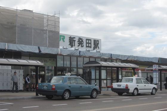 10_新発田(しばた)駅に到着