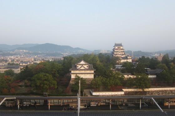 01_ニューキャッスルホテルから見る福山城