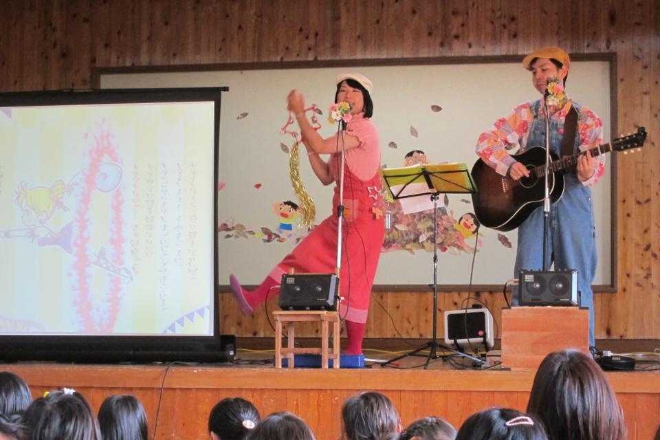 静岡県初上陸!しかも伊豆!賀茂郡松崎町 聖和保育園・秋のコンサート「あつまれ笑顔!」に出演