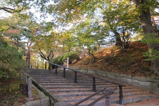 22_裏門跡の階段