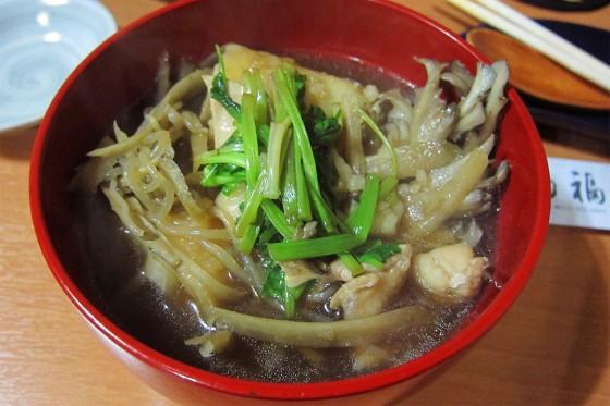 42_きりたんぽ鍋、美味い!