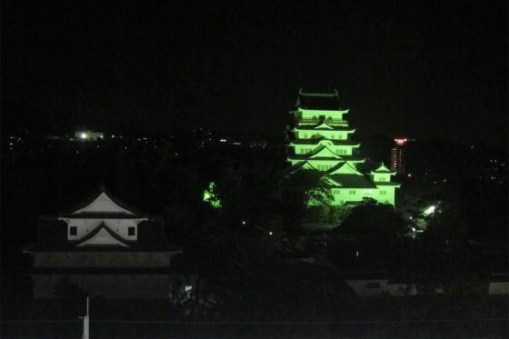 39_福山城を眺めながらね