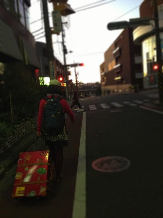 01_東京遠征は早朝に出発