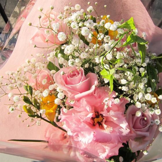 15_園児からいただいた花束