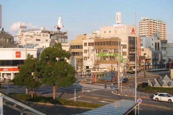 07_豊橋駅前のUSA