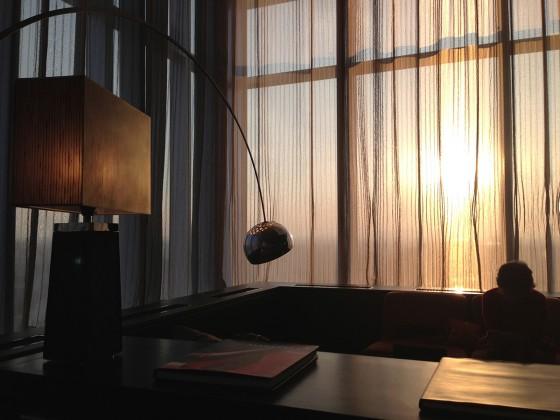 08_ホテルアークリッシュ豊橋04夕日が綺麗だ・・・