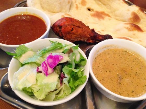 12_上板橋インド料理「スルエシー」のカレー