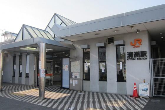 22_清洲駅に到着