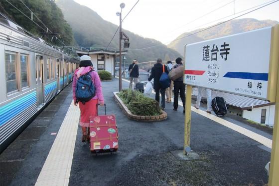 07_蓮台寺駅に到着