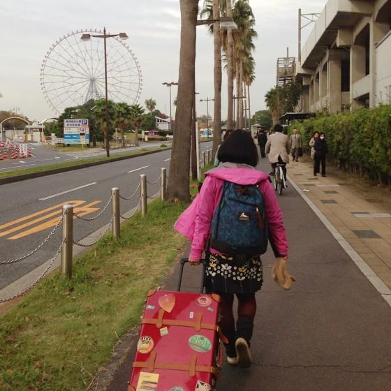 01_今朝は舞浜から出発!