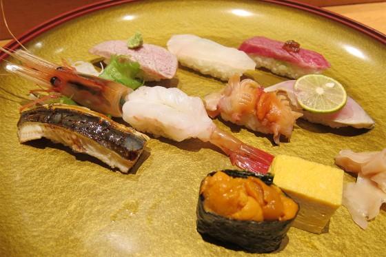 25_お寿司のたちばなの本日の親方おまかせにぎり