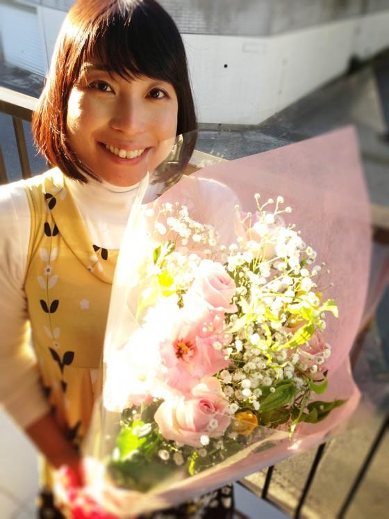 16_お花をどうもありがとう♡