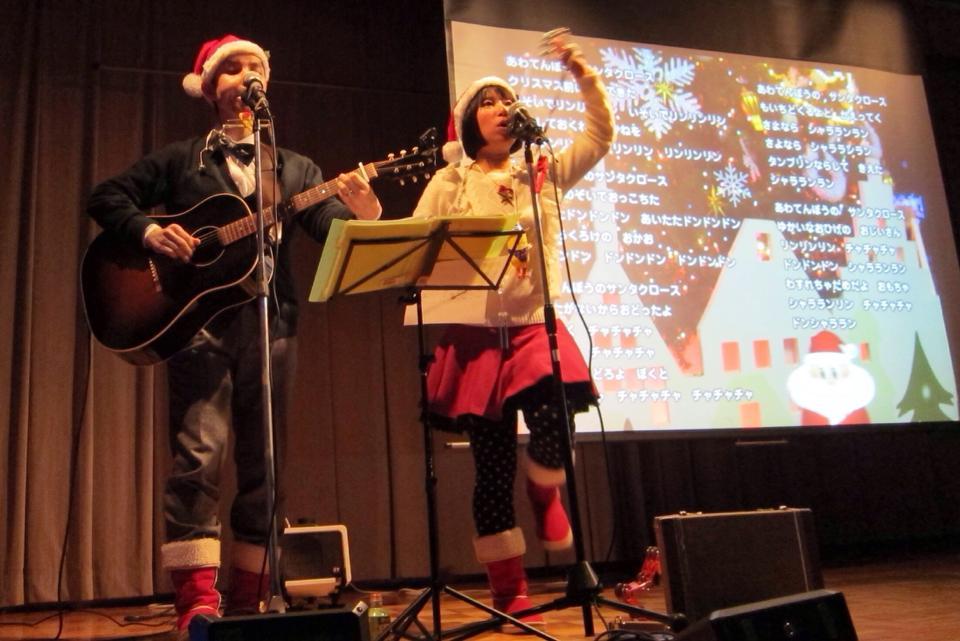 京都府立・救護施設 洛南寮 あかつき会のクリスマス会へ出張コンサートしました!