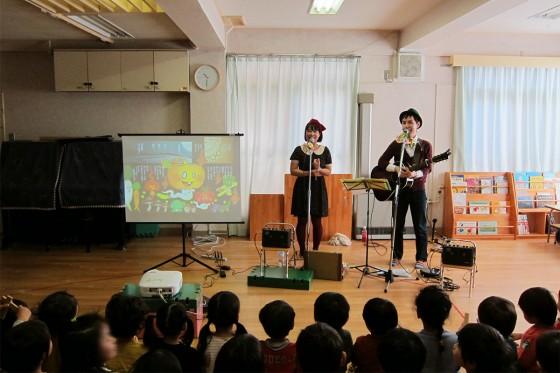15_梅丘保育園・秋の観劇会ケチャマヨコンサート06怖かったかな?