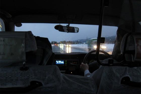 28_長岡駅まではタクシーで