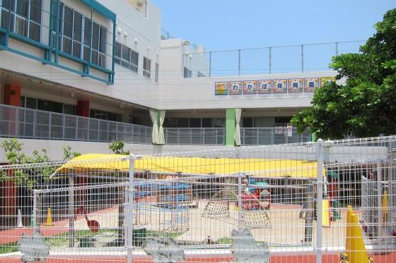 09_晴天の沖縄、わかば保育園でした。