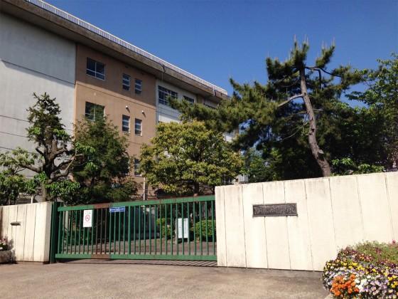 02_川崎市立西野川小学校に到着