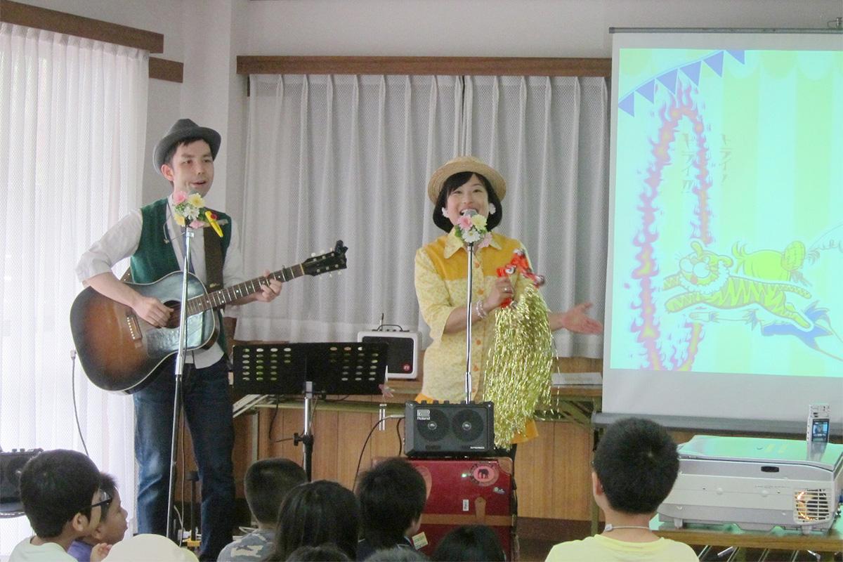 小学生と一緒にコンサート~新入生歓迎会@横浜市・富士見ヶ丘 子供会