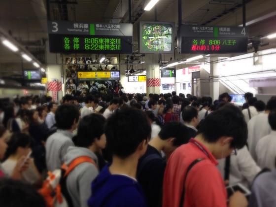 02_町田駅は大混雑