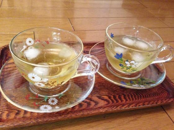 12_お茶を頂いてリラックス