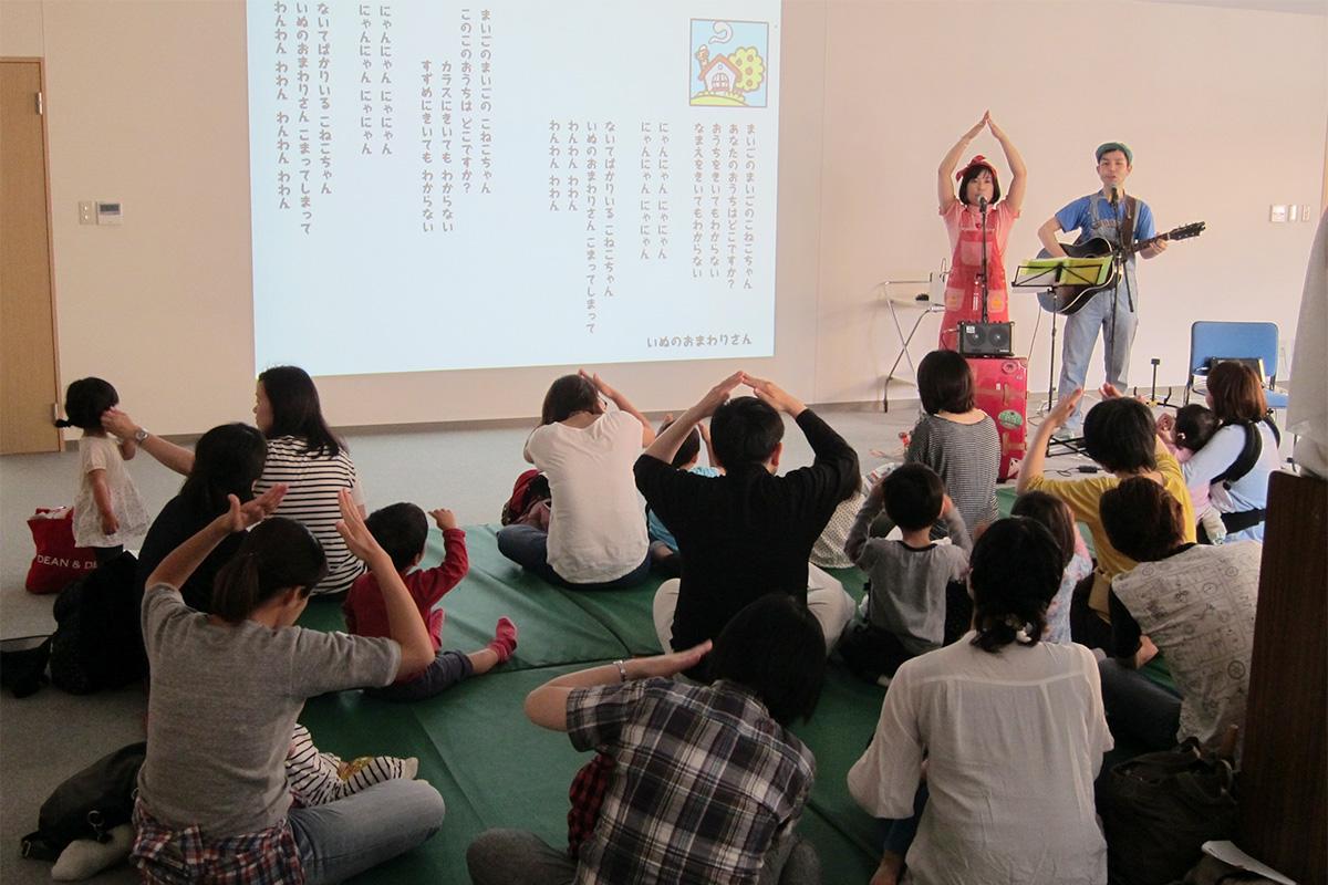 赤ちゃんも一緒にコンサート「ふれあい赤十字デー」@葛飾赤十字産院
