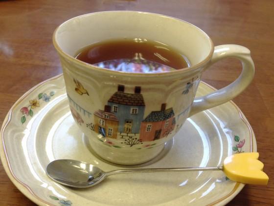 13_またお茶を頂いてリラックス