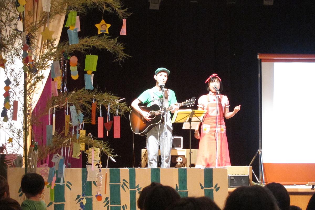 1~2歳の小さなお子さまと♪七夕まつり会コンサート@名古屋女子大学 子育支援室「たっち」