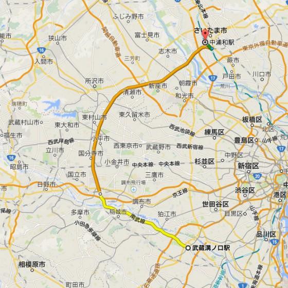 01_東京23区を避けるルート