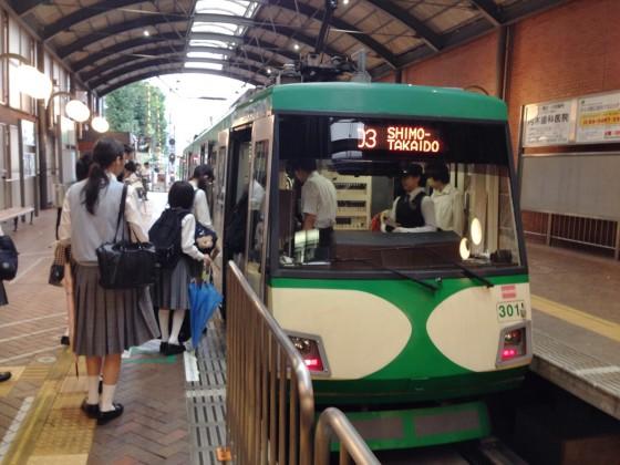 02_世田谷線はバスみたいでした