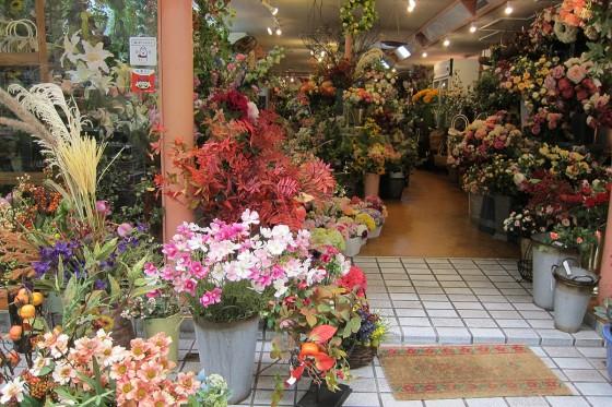 06_造花のお花屋さん