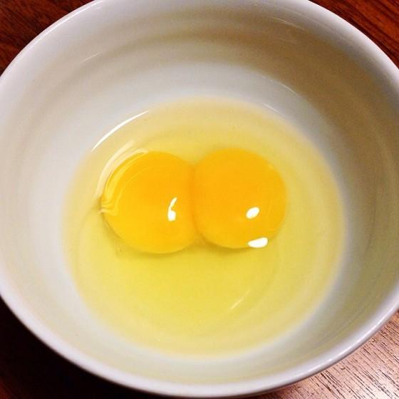 01_朝食の卵はツインソウル