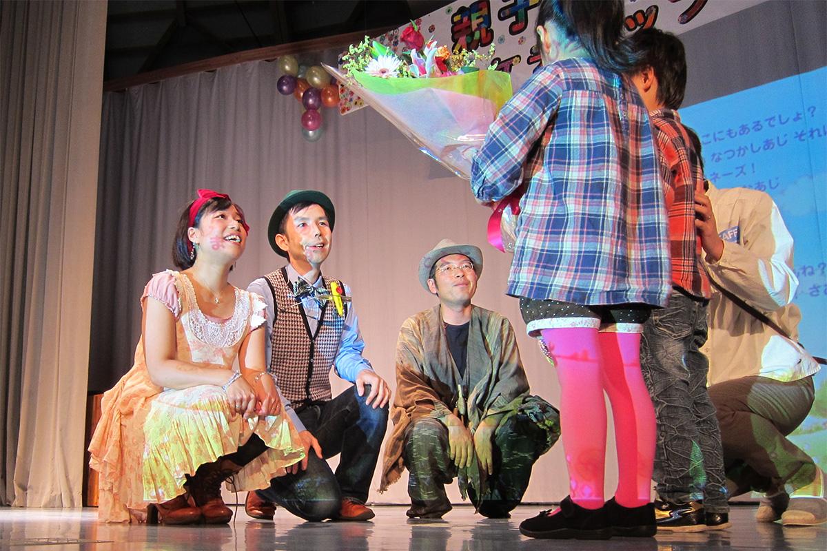 岩手県一戸町・親子ふれあいコンサートに出演しました!~ 金田一温泉サイクリングへ